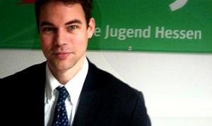 Christian Otto als Landesgeschäftsführer der Grünen Jugend Hessen