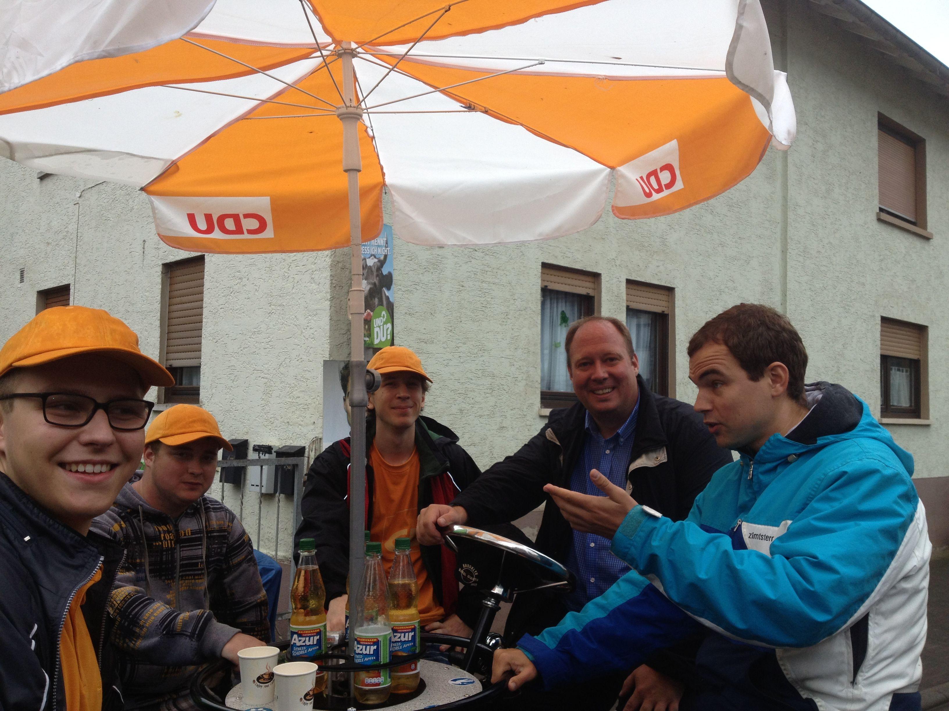 CDU zu Besuch