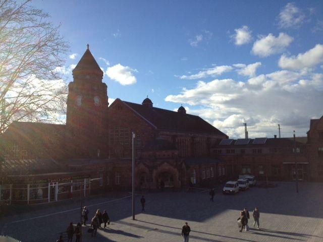Der Gießener Bahnhofsvorplatz